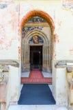 The Moldovita Monastery, Suceava County, Moldavia, Ro Stock Photo