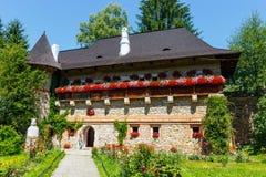 The Moldovita Monastery, Suceava County, Moldavia, Ro Stock Image