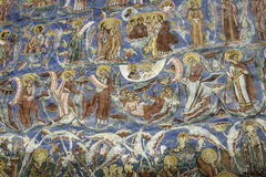 Moldovita, romania, europe, monastery Royalty Free Stock Images