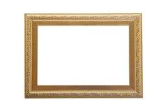 Moldura para retrato com teste padrão cinzelado Fotografia de Stock Royalty Free