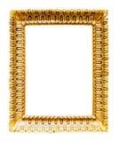 Moldura para retrato de cobre velha Imagem de Stock Royalty Free