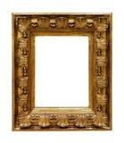Moldura para retrato de cobre velha Imagens de Stock