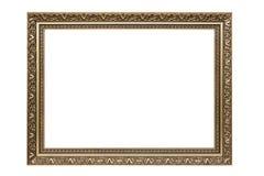Moldura para retrato decorativa do retângulo fotografia de stock royalty free