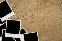 Moldura para retrato do Polaroid Imagens de Stock
