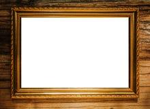 Moldura para retrato vazia Fotografia de Stock