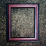 Moldura para retrato velha. fotos de stock