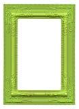 Moldura para retrato verde Imagens de Stock