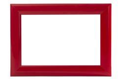 Moldura para retrato vermelha Imagens de Stock