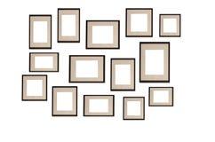 Molduras para retrato Imagem de Stock