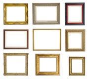 Molduras para retrato ajustadas Imagem de Stock Royalty Free