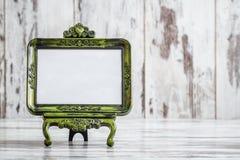 Molduras para retrato autônomas do Tabletop decorativo do vintage Fotografia de Stock