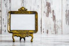 Molduras para retrato autônomas do Tabletop decorativo do vintage Imagens de Stock