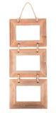 Molduras para retrato de madeira Fotos de Stock Royalty Free