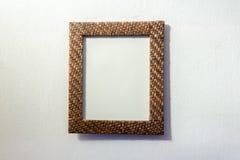 Molduras para retrato de madeira do estilo retro Imagens de Stock