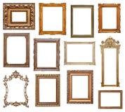 Molduras para retrato do vintage Fotografia de Stock Royalty Free