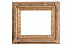 Molduras para retrato velhas de madeira foto de stock royalty free