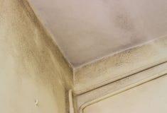 Moldy bathroom corner Royalty Free Stock Photo