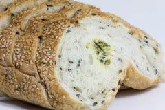 Moldy bread Stock Photography