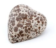 Heart Shaped Moldy Chocolate Royalty Free Stock Photography