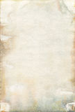 Moldy old watercolour paper texture Stock Photography