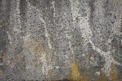 Moldy plaster. Detail of a moldy wall Stock Photos