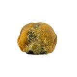 Moldy rotten orange fruit isolated Royalty Free Stock Photos
