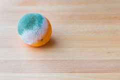 Moldy rotten orange fruit. Royalty Free Stock Photos