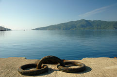 Mole. Near the harbor of marmaris, turkey Stock Image