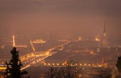 Mole Antonelliana-Ansicht stockbild