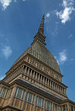 Mole Antonelliana. La Mole Antonelliana a Torino Stock Photo
