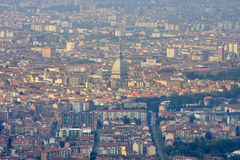 Mole Antonelliana, National Cinema Museum. Turin Royalty Free Stock Images
