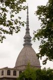 The Mole Antonelliana in turin, Italy. stock images