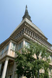 The Mole Antonelliana of Turin on Piedmont Stock Photos