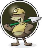 Mole Character Stock Photo