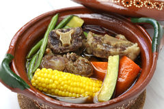 Mole de olla, mexican cuisine Stock Photo