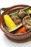 Mole de olla, mexican cuisine Stock Photography