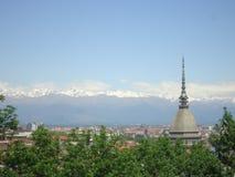 Landscape of Turin stock photo