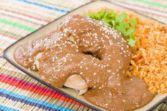 Mole Poblano Stock Photos