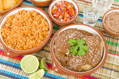 Mole Poblano Stock Photo