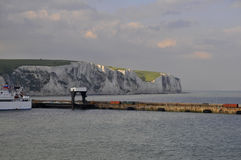 The mole - Port of Dover Royalty Free Stock Image