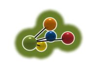 Molecola royalty illustrazione gratis