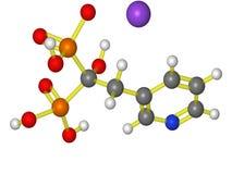 Molecola di Actonel Fotografia Stock