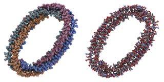 Molecola di Apolipoprotein A-I Fotografia Stock