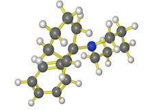 Molecola di PCP Immagini Stock