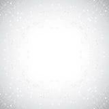 Molecola grigia geometrica e comunicazione del fondo Linee collegate con i punti Illustrazione di vettore Fotografia Stock Libera da Diritti