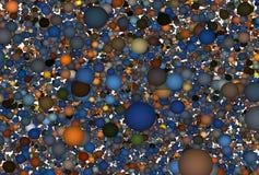 Molecole Fotografia Stock Libera da Diritti