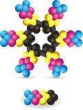 Molecole Immagini Stock Libere da Diritti