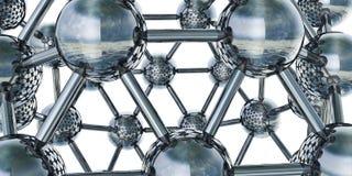 Molecole Fotografie Stock Libere da Diritti