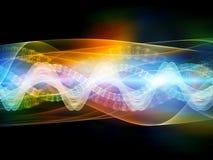 Moleculaire Kleuren Stock Foto