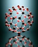 Moleculaire structuur Royalty-vrije Stock Foto's